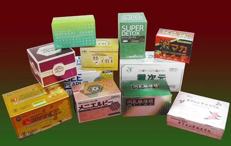 保健功能食品包装-新特印刷